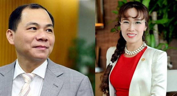 Deux Vietnamiens dans le classement mondial des milliardaires en 2017 hinh anh 1