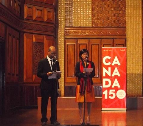Melanie Gall, une voix magnifique venue du Canada hinh anh 1