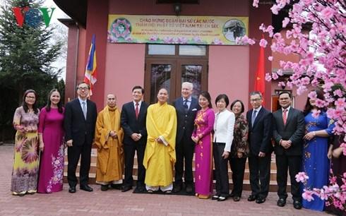 Des ambassadeurs asiatiques et europeens se renseignent sur la culture vietnamienne hinh anh 1