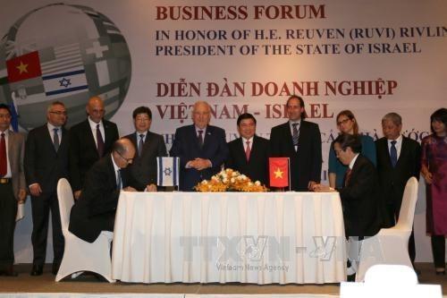 HCM-Ville s'associe avec des entreprises israeliennes pour ameliorer son environnement des affaires hinh anh 1