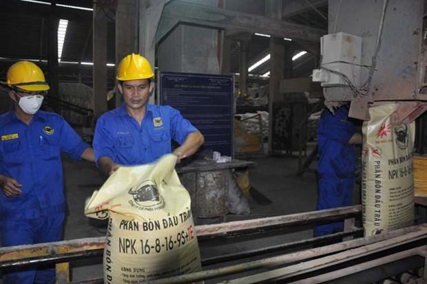 Les exportations d'engrais retrouve la croissance hinh anh 1