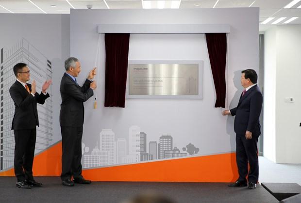 Le Centre d'Affaires de Mapletree - symbole de la cooperation entre le Vietnam et Singapour hinh anh 1