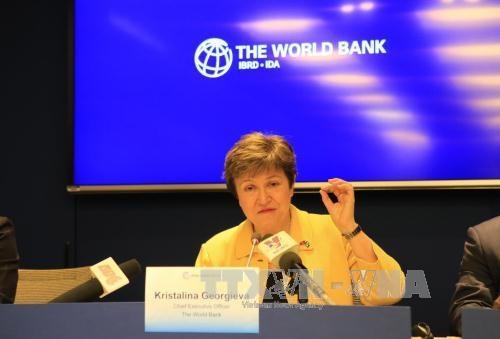 La directrice executive de la BM est optimiste pour la croissance vietnamienne hinh anh 1