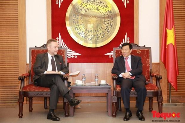 Vietnam - R. tcheque: Une bonne relation dans le secteur culturel, sportif et touristique hinh anh 1