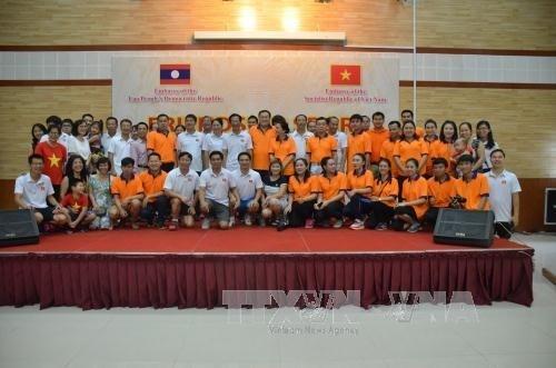 Renforcement de l'amitie Vietnam-Laos au Cambodge hinh anh 1