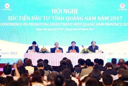 Le Premier ministre a une conference de promotion de l'investissement a Quang Nam hinh anh 1
