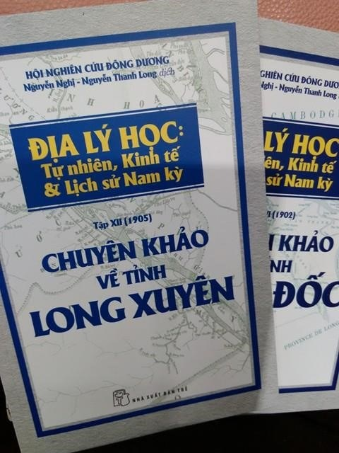 Sortie d'anciennes monographies sur les territoires du Sud du Vietnam hinh anh 1