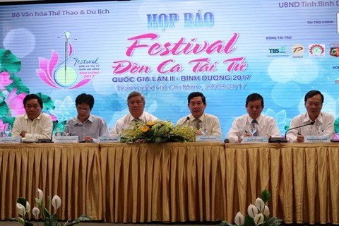 Festival national du don ca tai tu prochainement a Binh Duong hinh anh 2