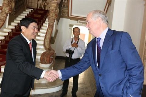 Ho Chi Minh-Ville soutient toujours le projet de l'Universite Fullbright Vietnam hinh anh 1
