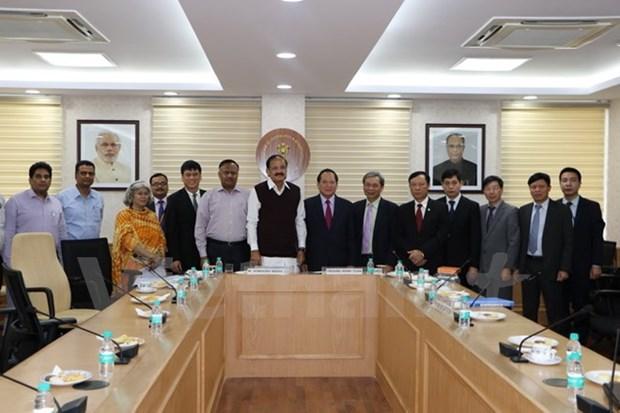 Vietnam et Inde renforcent leur cooperation dans la presse et la radiodiffusion hinh anh 1