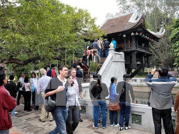 Hausse du tourisme de Hanoi au 1er trimestre hinh anh 1