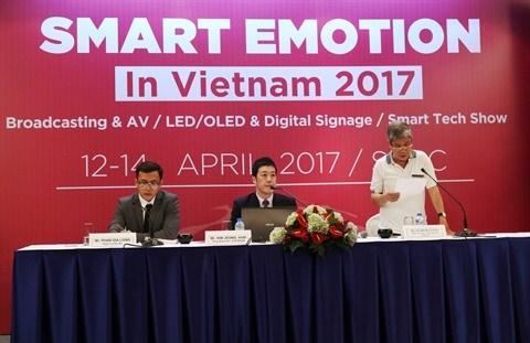 Plus de 250 exposants au forum Smart Emotion 2017 en avril a Ho Chi Minh-Ville hinh anh 1