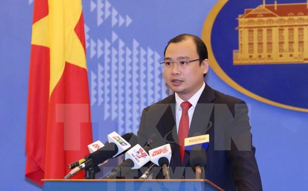 Le Vietnam proteste contre l'exercice de tir a balles reelles de Taiwan hinh anh 1