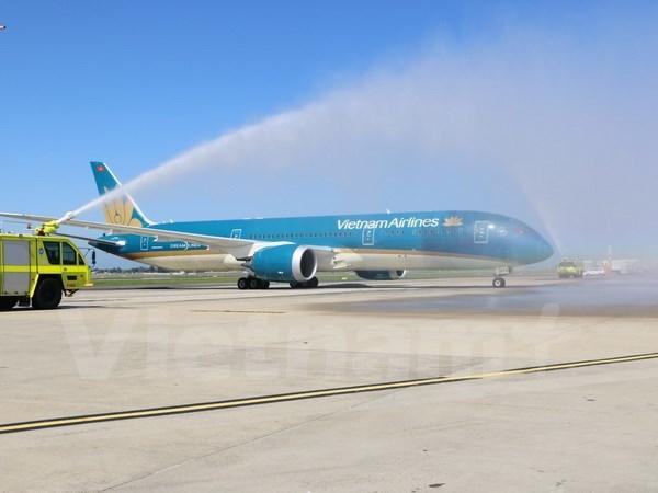 Vietnam Airlines ouvre une ligne directe Hanoi-Sydney hinh anh 1