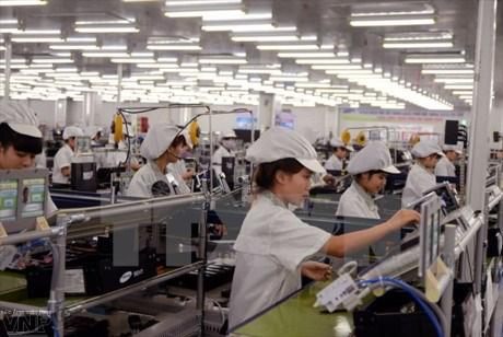 L'indice de production industrielle en hausse de 4,1 % au premier trimestre hinh anh 1