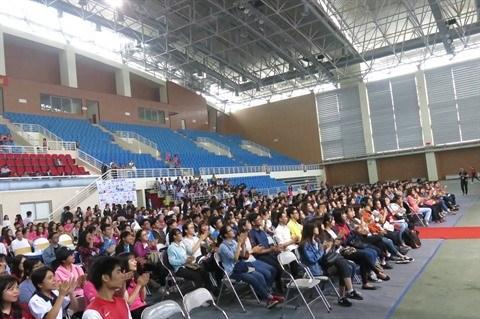 Un millier d'etudiants au programme «IYF World Camp 2017» a Hanoi hinh anh 3