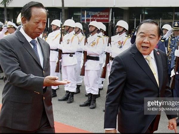 Les ministeres thailandais et cambodgien de la Defense etablissent une ligne ''rouge'' hinh anh 1