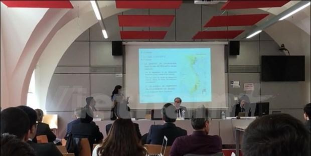 Un seminaire international sur la Mer Orientale en France hinh anh 1