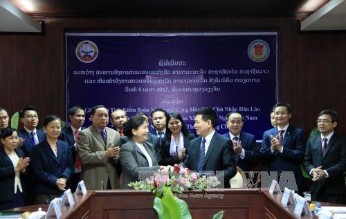 Les Audits d'Etat du Vietnam et du Laos renforcent leur cooperation hinh anh 1