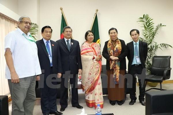 Le Vietnam developpe ses relations traditionnelles avec le Bangladesh, les Fidji et la Georgie hinh anh 1