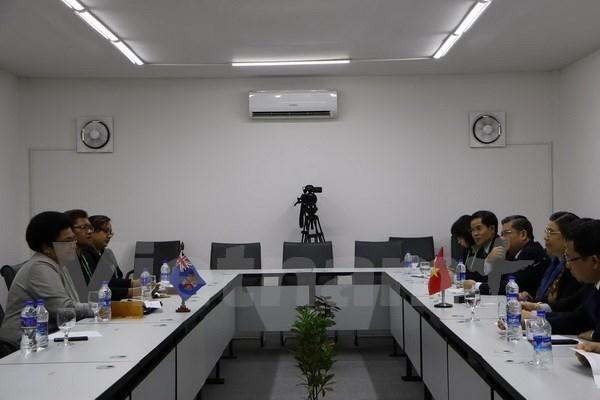 Le Vietnam developpe ses relations traditionnelles avec le Bangladesh, les Fidji et la Georgie hinh anh 2