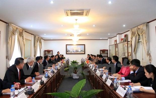 Vietnam-Laos: les deux Bureaux presidentiels cimentent leurs relations hinh anh 1