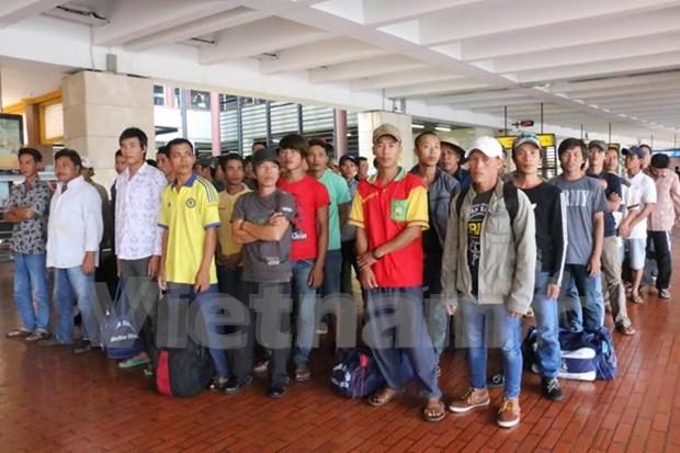 L'Indonesie renvoie 39 pecheurs vietnamiens dans leur pays hinh anh 1