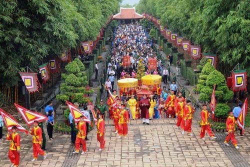 La fete du culte des rois Hung celebree dans tout le pays hinh anh 1