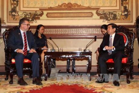 Ho Chi Minh-Ville et l'Australie renforcent leur cooperation multiforme hinh anh 1