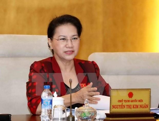 La presidente de l'AN Nguyen Thi Kim Ngan part pour la Suede, la Hongrie et la Republique tcheque hinh anh 1