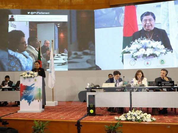 L'UIP 136 se termine par la Declaration de Dhaka appelant a mettre fin a l'inegalite hinh anh 1