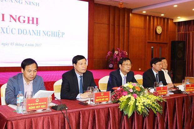 Quang Ninh : dialogue entre les dirigeants provinciaux et plus de 600 entreprises hinh anh 1
