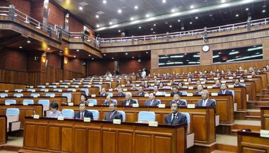 Ouverture de la 8e session de l'Assemblee nationale du Cambodge hinh anh 1