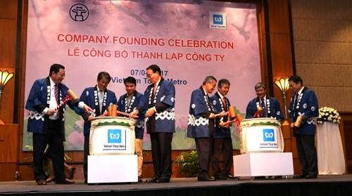 Le Japon aide Hanoi dans la gestion et l'operation de ses projets de metro hinh anh 1