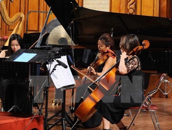 Des artistes vietnamiens, allemands et japonais reunis pour un concert special hinh anh 1