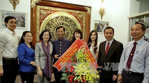 Paques: felicitations aux catholiques et protestants de Ho Chi Minh-Ville hinh anh 1
