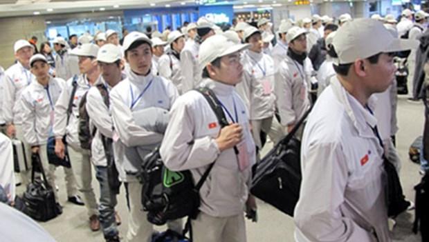 Plus de 22.500 travailleurs vietnamiens envoyes a l'etranger au 1er trimestre hinh anh 1