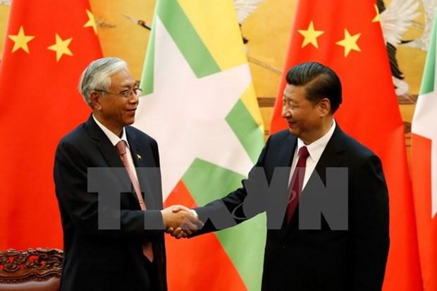 Chine et Myanmar soulignent la cooperation gagnant-gagnant pour faire avancer leurs relations hinh anh 1
