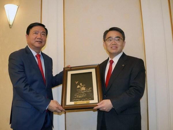 HCM-Ville et la prefecture japonaise d'Aichi stimulent leur cooperation hinh anh 1