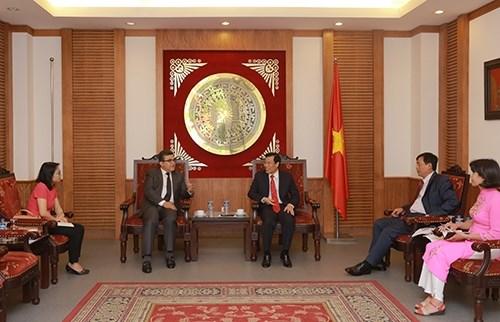 Le Vietnam souhaite promouvoir la cooperation avec la Palestine dans la culture hinh anh 1