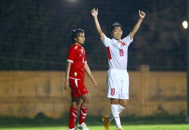 Football feminin : le Vietnam qualifie pour la phase finale d'Asie 2018 hinh anh 1