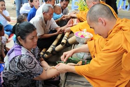 Celebration du Nouvel An traditionnel de quatre pays asiatiques a HCM-Ville hinh anh 1