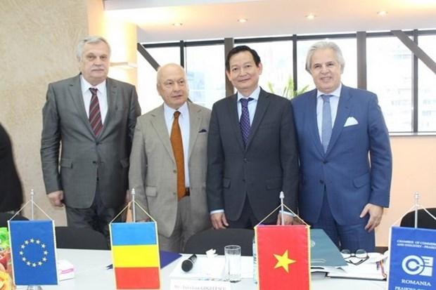 Le Vietnam et la Roumanie renforcent leur cooperation au commerce hinh anh 1