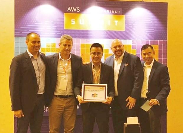 FPT Software recoit le prix de partenaire technologique de l'annee d'Amazon hinh anh 1