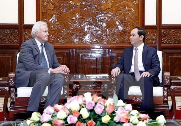 Le Vietnam salue l'elargissement de l'investissement du groupe americain General Electric hinh anh 1