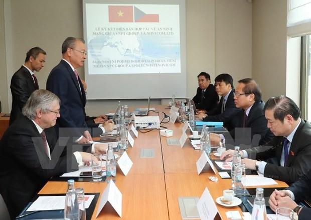 VNPT et Nivicom signent un protocole d'accord sur la cooperation en matiere de cybersecurite hinh anh 1