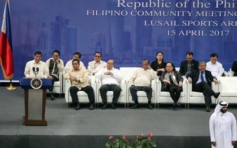 Qatar et Philippines signent des accords commerciaux de 200 millions d'USD hinh anh 1