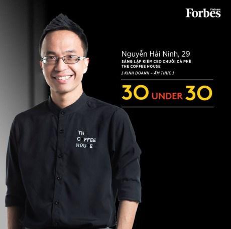 """Trois hommes d'affaires vietnamiens dans la liste """"30 Under 30 Asia"""" hinh anh 1"""