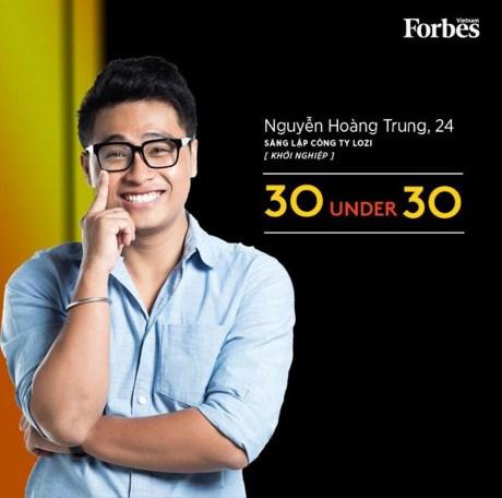 """Trois hommes d'affaires vietnamiens dans la liste """"30 Under 30 Asia"""" hinh anh 3"""