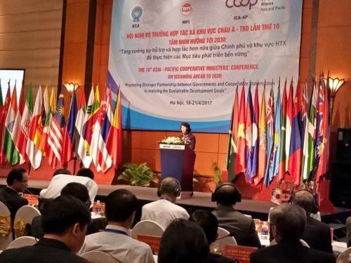Les cooperatives d'Asie-Pacifique et leur role dans le developpement economique hinh anh 1